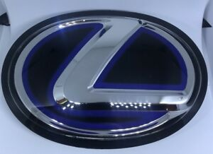 New Blue For Lexus Emblems Front Grille Grill Logo F Sport Is250 Gs350 Hybrid Nx