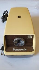 Vintage Panasonic Kp 33 Electric Pencil Sharpener Point O Matic Auto Off 090
