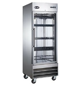Saba S 23fg Commercial Reach in Swing Glass Door Freezer