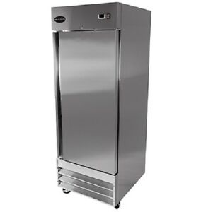Saba S 23f Commercial Reach in Solid Swing Door Freezer