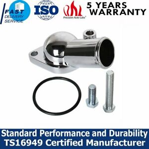 15 Water Neck Thermostat Housing 350 454 Small Big Block For Chevy Chrome Sb Bb
