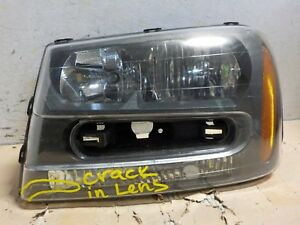 Left Lh Halogen Oem Chevy Trailblazer 02 03 04 05 06 07 08 09 Headlight Ju0854