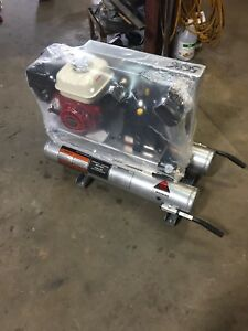New Ultra Power upac 2 Commercial Dual Tank Air Compressor