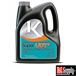 New Genuine Kubota Tractor 1 Gallon Udt2 Transmission Hydraulic Oil 70000 40201
