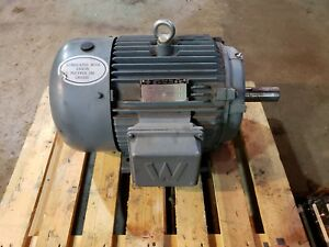 15 Hp 3ph Electric Motor 1770 Rpm 230 460 Volts 254t Tefc 3 Ph Freight Shipping