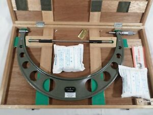 15 16 Mitutoyo Outside Micrometer No 103 192a Good Condition