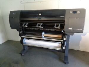 Hp Designjet 4500ps Wide format Printer Used Includes Paper Rolls