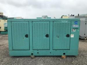 _125 Kw Cummins Onan Generator Set 12 Lead Reconnectable 1 3 Phase 480 Volts