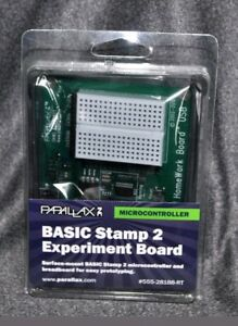 Parallax Microcontroller Surface mount Basic Stamp 2 Experiment Board New