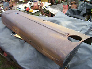 Vintage Oliver 77 Diesel Row Crop Tractor hood Battery Door Assy 1952
