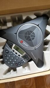 New Polycom Soundstation Ip6000 Sip Conferencing Phone W poe Ac Power Supply