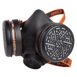 Climax Half Face Respirator Mask With A1 Filters Included Dust Mask