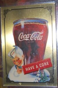 redemption 1993 Coca Cola Series 2 Polar bear Gold 24k Card