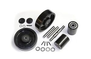 Wesco 272748 Pallet Jack Wheel Kit complete Wic1 includes All Parts Shown