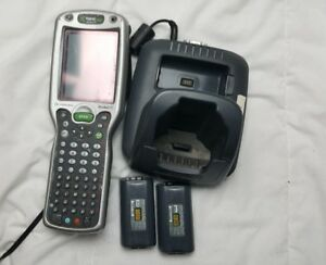 Handheld Products Dolphin 9500l0 Scanner Dock Station cord Battery Untested