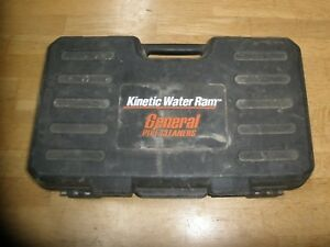 General Model G Kinetic Water Ram Pipe drain Cleaner Tool W case