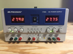 Bk Precision 1760a 4 Digit Triple Output Power Supply New Other