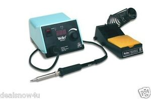 Weller Digital Soldering Station Pencil Unit With Stand And Sponge Electronic