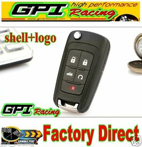 New Replacemnet Flip Remote Fob Key Shell Case For 11 13 Chevrolet Equinox