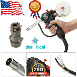 Nbc 200a Miller Mig Spool Gun Pull Feeder Aluminum Welding Torch With 1m Cable