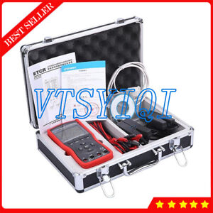 Multi functional Digital Intelligent Double Clamp Phase Volt ampere Meter Tester