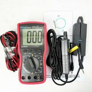 Etcr4100 0 360 Angle Double Clamp Digital Phase Meter For Phase Sequence Tester