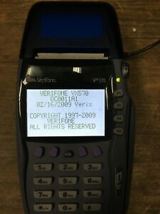 Used Verifone Vx570 Omni 5700 Credit Card Terminal