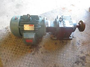 Reliance Electric Duty Master Motor Sew Eurodrive Gear Reducer 530802h