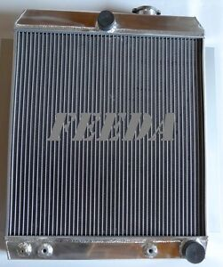 Aluminum Radiator For 1948 1954 Chevy Pickup Truck 3100 3600 3700 3800 At 49 50