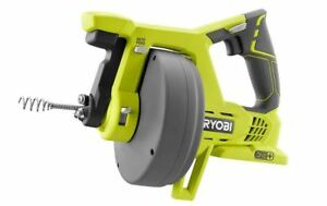 Ryobi 18 volt One Drain Auger Pipe Cleaner Plumbing Snake Cable tool Only