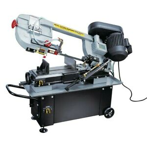 Brand New 1 Hp 7 In X 12 In Hydraulic Feed Metal Cutting Band Saw Easy Storage
