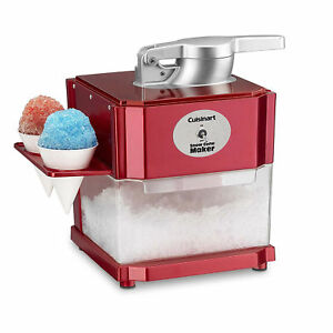 Professional Snow Cone Machine Electric Maker Shaved Ice Commercial Crusher S