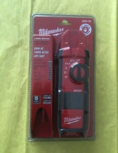 New In Package Milwaukee 2205 20 Fork Meter Milwaukee Tool