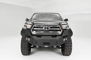 Fab Fours Premium Winch Front Bumper For 2016 2017 Toyota Tacoma Tt16 B3651 1