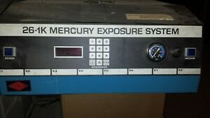 Nuarc Mercury Exposure System New Pics Now Offer Shipping Sale