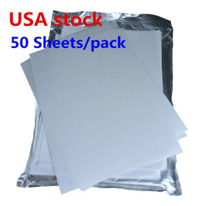 Us Stock A4 3d Sublimation Transfer Film For 3d Sublimation Printing 50 Sheets