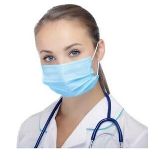 500 Adenna Harmony Earloop Surgical Flu Medical Face Mask 3 Ply