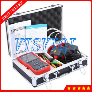 Etcr4700 Ac 0ma 400a Three Phase Digital Clamp Volt ampere Meter Tester