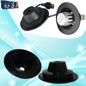 2x Universal Housing Dust Caps For Hid Led Light Kit Aftermarket Headlight