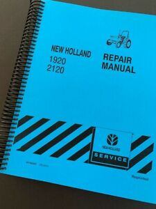 Ford New Holland 1920 2120 Tractor Shop Service Repair Manual Print Version