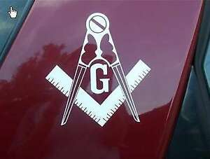 2 Mason Masonic Vinyl Decal Sticker Graphic Decals