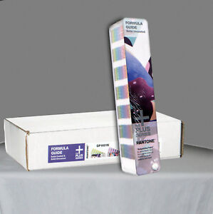 Pantone Color Formula Guide Uncoated Sealed Book As Pictured Box Gp1601n