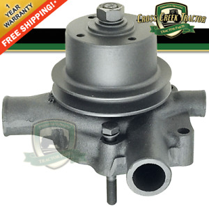 3641250m91 New Water Pump W Pulley For Massey Ferguson 65 165 255 302 304 40b