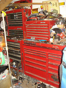 Mac Tool Boxes Fully Loaded With Tools