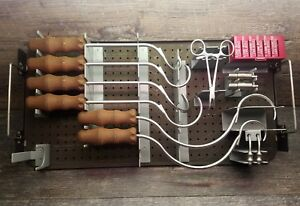 Synthes Surgical Orthopedic Cable System Instrument Set As Is For Parts