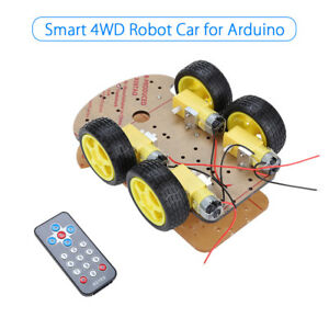 Smart Robot Gear Motor Car Avoidance Tracking Ir Sensor Chassis Kit For Arduino