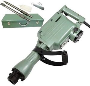 Electric Power Powered Demo Breaker Concrete Demolition Jack Hammer Tool Set