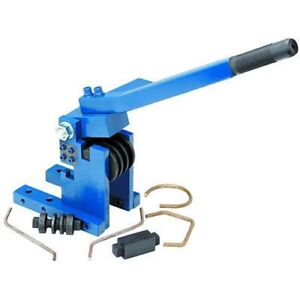 Manual Bench Mounted Bending Roller Round Wire Pipe Or Flat Stock Bender