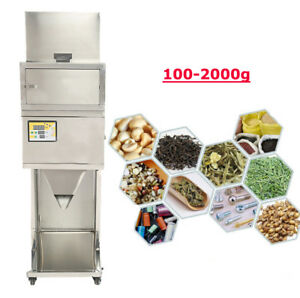 Filling Machine 100g 2000g And Great Auto Weighing Powder And Nuts Split Packing