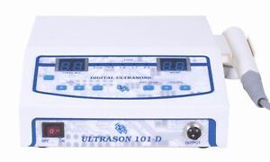 Ultrasound Ultrasonic Physical Therapy Machine Knee Heal Pain Relief 1 Mhz
